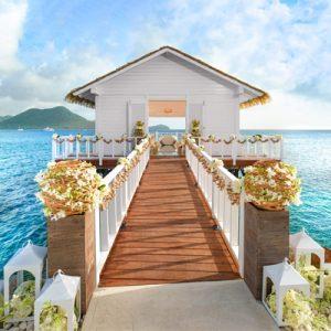 April Weddings Abroad Beach Weddings Abroad St Lucia
