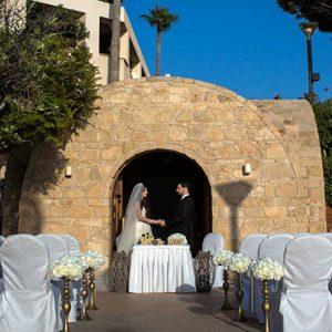 Beach Weddings Abroad Cyprus Weddings Couple Married In Chapel