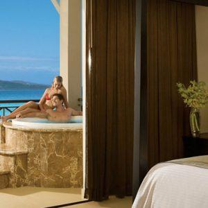 Beach Weddings Abroad Jamaica Weddings Jacuzzi Suite