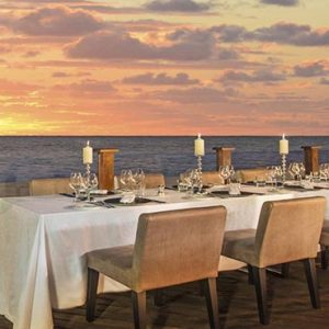 Beach Weddings Abroad Mauritius Weddings Dining On The Terrace