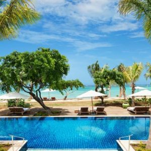 Beach Weddings Abroad Mauritius Weddings Garden Pool