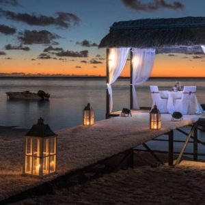 Beach Weddings Abroad Mauritius Weddings Jetty Dining Setup