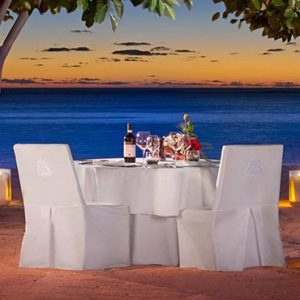 Beach Weddings Abroad Mauritius Weddings Private Dining On The Beach