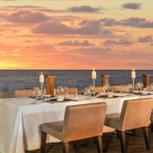 Beach Weddings Abroad Mauritius Weddings Wedding Reception Terrace Setup