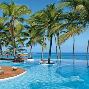Beach Weddings Abroad Dominican Republic Weddings Infinity Pool