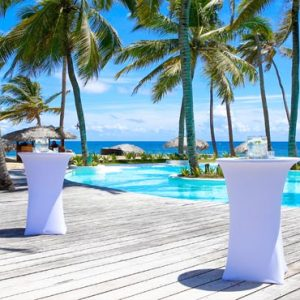 Beach Weddings Abroad Dominican Republic Weddings Pool Wedding Setup