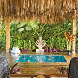 Beach Weddings Abroad Dominican Republic Weddings Spa Massage Cabin
