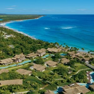 Beach Weddings Abroad Dominican Republic Weddings Aerial View1