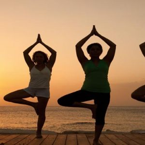 Beach Weddings Abroad Jamaica Weddings Yoga At Sunset