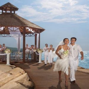Beach Weddings Abroad Jamaica Weddings Wedding Couple Gazebo