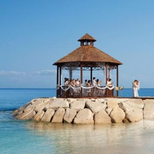 Beach Weddings Abroad Jamaica Weddings Wedding Couple Gazebo1
