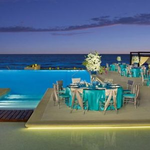 Beach Weddings Abroad Mexico Weddings Pool Lounge Party1