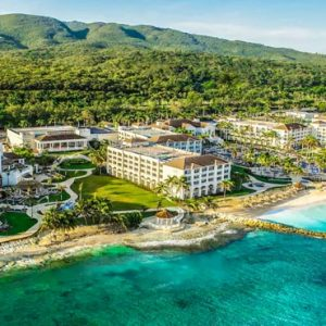 Beach Weddings Abroad Jamaica Weddings Aerial View