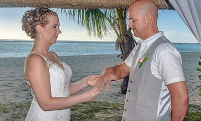Kerry and James' Intimate Destination Wedding in Mauritius
