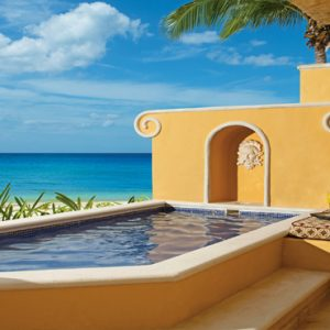 Beach Weddings Abroad Mexico Weddings Ocean Front One Bedroom Suite With Plunge Pool3