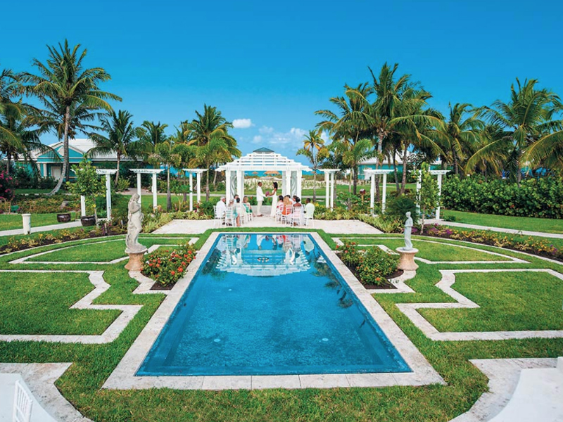 European Wedding Garden The Ultimate Guide To Getting Married At Sandals Resorts Caribbean Weddings