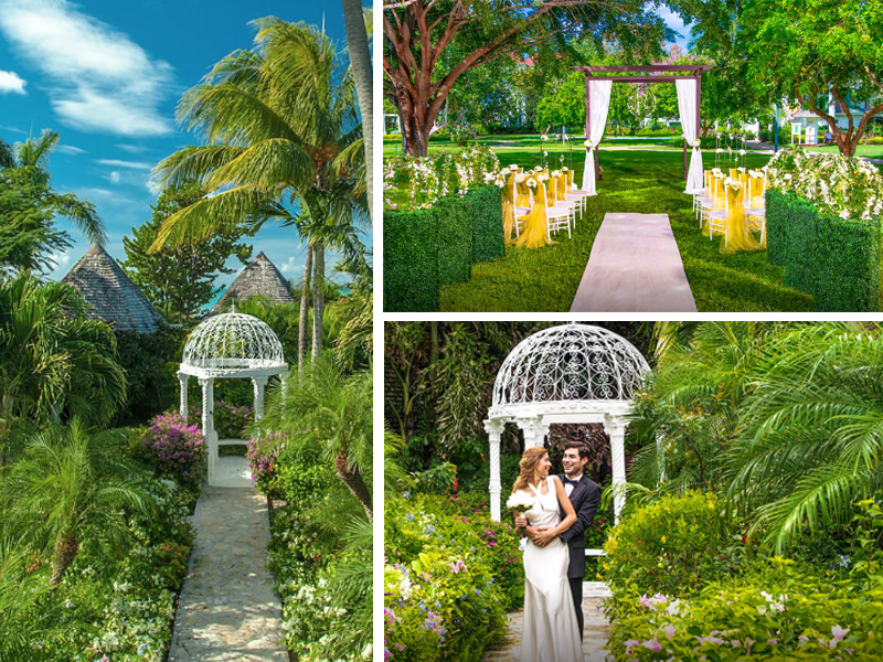 Garden Gazebo The Ultimate Guide To Getting Married At Sandals Resorts Caribbean Weddings