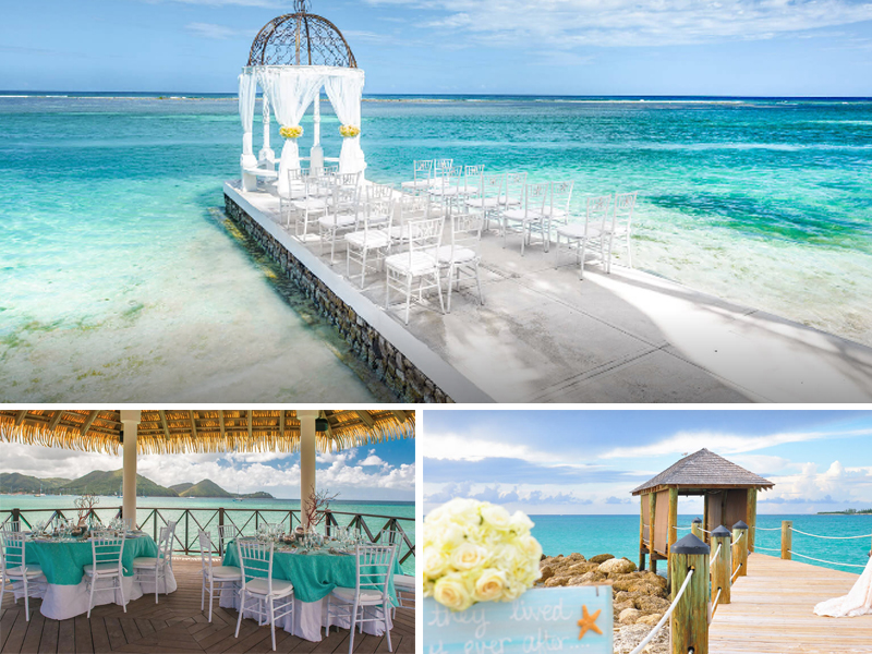 Overwater Gazebo The Ultimate Guide To Getting Married At Sandals Resorts Caribbean Weddings