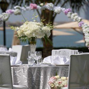 Beach Weddings Abroad Dubai Weddings Beach Wedding Reception