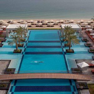 Beach Weddings Abroad Dubai Weddings Pool Overview