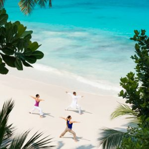Beach Weddings Abroad Seychelles Weddings Beach Yoga1
