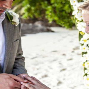 Beach Weddings Abroad Seychelles Weddings Bride And Groom