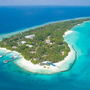 Kuramathi Maldives Maldives Weddings Abroad Aerial View