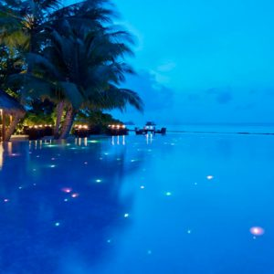 Kuramathi Maldives Maldives Weddings Abroad Pool At Night