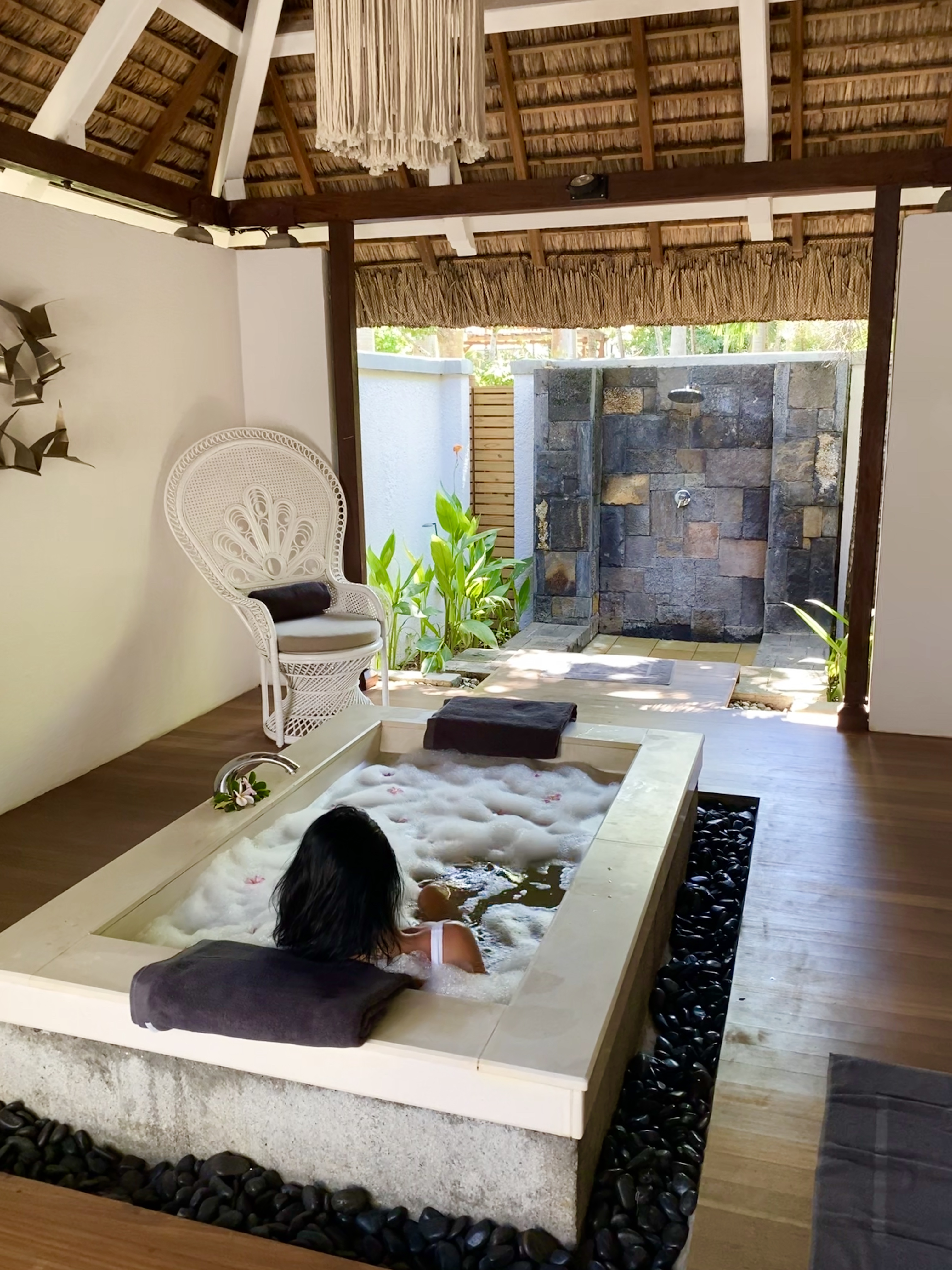 paradise cove spa - real wedding review in Mauritius