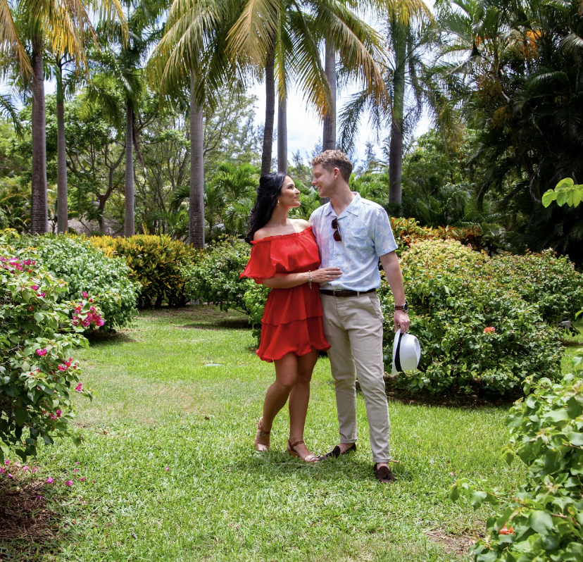 paradise cove romantic photoshoot - real wedding review in Mauritius