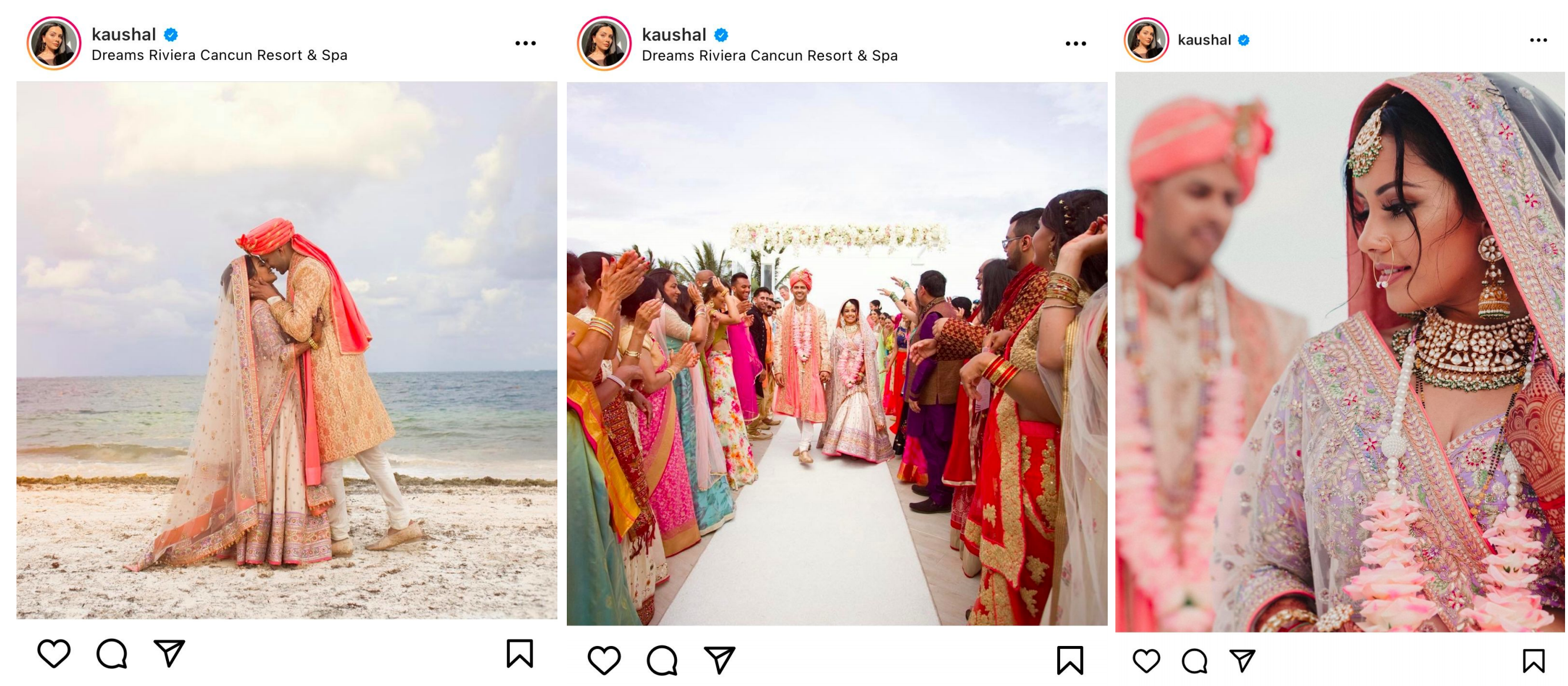 Mexico weddings abroad- Kaushal and Vex's Big Day